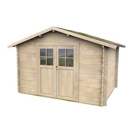 Casetta da giardino in legno Monza 6.88 m² spessore 28 mm