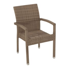 Sedia in alluminio Costarica NATERIAL colore naturale
