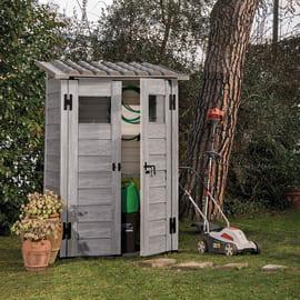 Casetta da giardino in pvc Garofalo Woody 0.88 m² spessore 20 mm