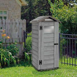 Casetta da giardino in pvc Garofalo Woody 0.58 m² spessore 20 mm