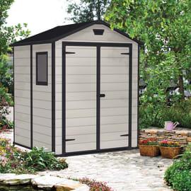 Casetta da giardino in resina Lineus 6x6 3.81 m² spessore 16 mm