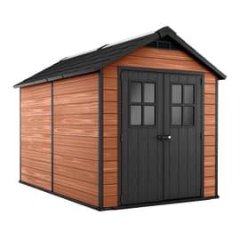 Casetta da giardino in resina NEWTON WOODSHIELD 7511 5.3 m² spessore 20 mm