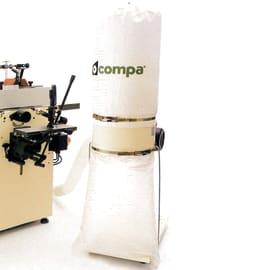 Aspiratore per macchine lavorazione legno HP1 0.75 W 600 m³/h