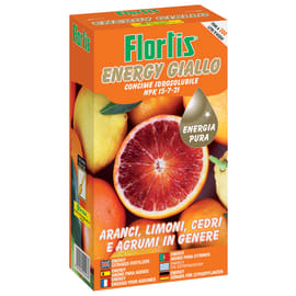 Concime idrosolubile FLORTIS Energy giallo 600 g