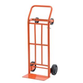 Carrello piattaforma ad utilizzo verticale ed orizzontale portata 200 kg