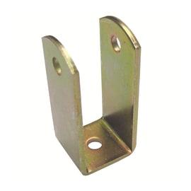 Cavallotto standers acciaio zincato L 50 x Sp 2 x H 25 mm