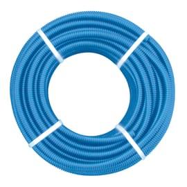 Tubo corrugato Ø 25 mm L 25 m Blu