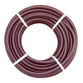 Tubo corrugato Ø 25 mm L 25 m Marrone