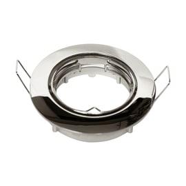 Faretto da incasso tondo Clane in alluminio, argento, diam. 8.2 cm GU10 IP23 INSPIRE 1 pezzi
