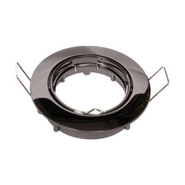 Faretto da incasso tondo Clane in alluminio, nero, diam. 8.2 cm GU10 MAX0W IP23 INSPIRE 1 pezzi