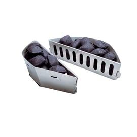 Cesta per cuocere WEBER separa carbone per barbecue (2 pezzi)