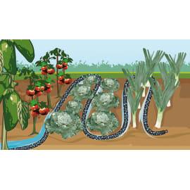 Kit di irrigazione goccia a goccia 25 punti di irrigazione GEOLIA GEO4090