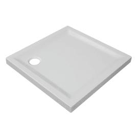 Piatto doccia acrilico rinforzato fibra di vetro Houston 90 x 90 cm bianco