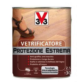 Vetrificatore per parquet V33 Protezione Estrema trasparente lucido 2.5 L