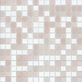 Mosaico Cipria H 32.7 x L 32.7 cm bianco, rosa