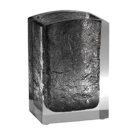 Bicchiere porta spazzolini Antares in resina grigio