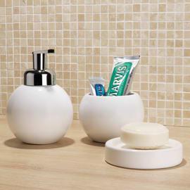 Dispenser sapone Bubble bianco