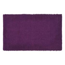 Tappeto bagno Bubble in 100% cotone viola 80 x 50 cm