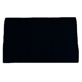 Tappeto bagno Eponge in cotone blu 80 x 50 cm