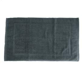 Tappeto bagno Eponge in cotone grigio 80 x 50 cm