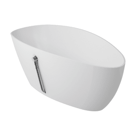 Vasca a isola ovale Stori bianco 70 x