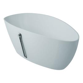 Vasca a isola ovale Stori bianco 157 x 70 cm