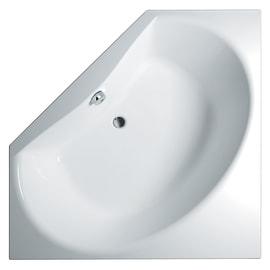 Vasca e pannello piatto Bice 140 x 140 cm bianco