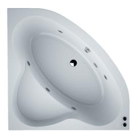 Vasca idromassaggio angolare Nacar Confort bianco 140 x 140 cm 6 bocchette SANYCCES