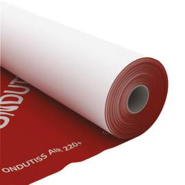 Membrana bituminosa ONDULINE Ondutiss air 220 T 220 g/m³ 1.5 x 50 m trasparente
