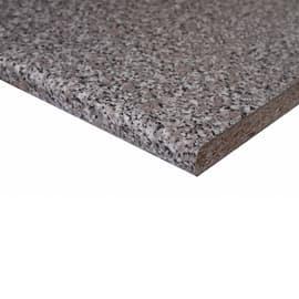 Piano di lavoro grigio L 204 x H 60 cm, spessore 2.8 cm