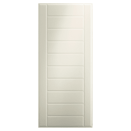 Pannello per porta blindata pellicolato bianco L 90 x H 210 cm, Sp 6 mm