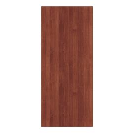 Pannello per porta blindata pellicolato noce L 90 x H 210 cm, Sp 6 mm