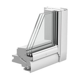 Finestra da tetto VELUX GGU PK10 006821 elettrico L 94 x H 160 cm bianco