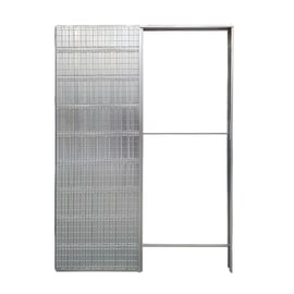 Controtelaio porta scorrevole per intonaco L 100 x H 210 cm