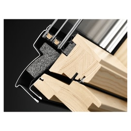 Finestra da tetto VELUX GGL BK04  manuale L 47 x H 98 cm pino