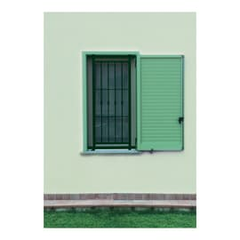 Grata blindata Sikura 80 x 150 cm verde