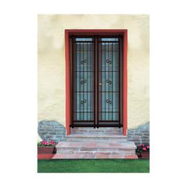 Grata blindata Sikura 120 x 220 cm arancio / ramato