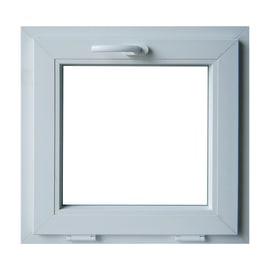 Finestra in pvc bianco L 60 x H 60 cm