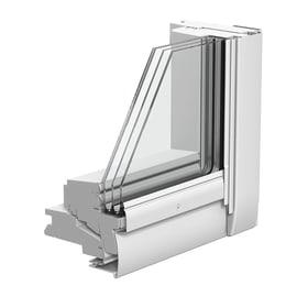 Finestra da tetto VELUX GGL CK02 2068 manuale L 55 x H 78 cm bianco
