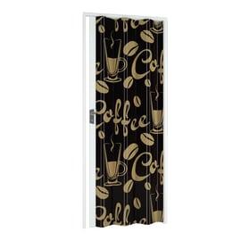 Porta a soffietto Coffee in pvc multicolore L 89.5 x H 214 cm