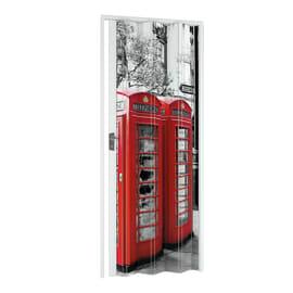 Porta a soffietto London in pvc multicolore L 102 x H 214 cm