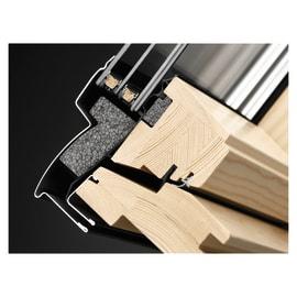 Finestra da tetto VELUX GGL CK02 307021 elettrico L 55 x H 78 cm legno