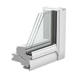 Finestra da tetto VELUX GGL CK04 2086  manuale L 55 x H 98 cm bianco