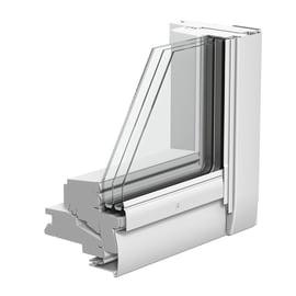 Finestra da tetto VELUX GGL CK02 3086  manuale L 55 x H 78 cm grigio antracite
