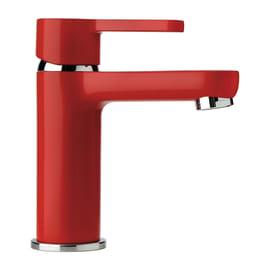 Rubinetto per lavabo Colors rosso opaco PAINI