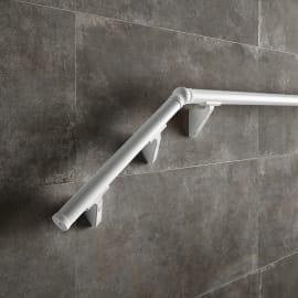 Kit balaustra Steel 120 in acciaio L 150 x H 40 cm bianco
