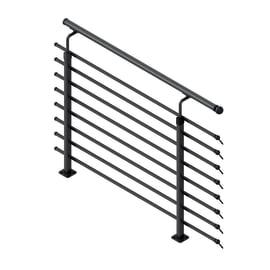 Balaustra Steel 30 in acciaio grigio / argento