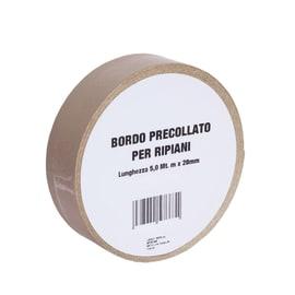 Bordo preincollato beige 500 x 2.8 cm
