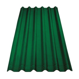 Lastra ONDULINE Easyfix in bitume 81 x 200 cm, Sp 2.6 mm verde