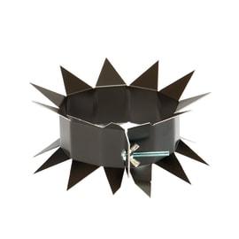 Collare antisalita per pluviale in metallo